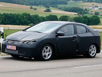 В Германии начались испытания Honda Civic нового поколения