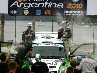 Гонщики Skoda заняли весь подиум на Ралли Аргентины