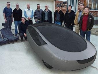 Американцы изготовили кузов для своего автомобиля на принтере