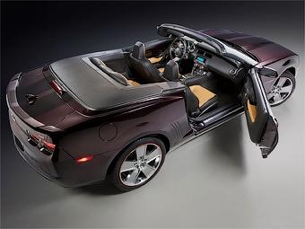 Спецверсию открытого Chevrolet Camaro продадут через рождественский каталог