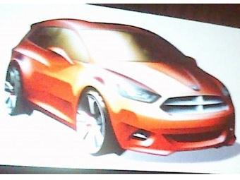 Директор Dodge показал фотографию нового компактного хэтчбека