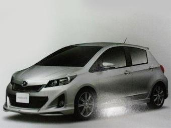 Появились изображения нового хэтчбека Toyota Yaris