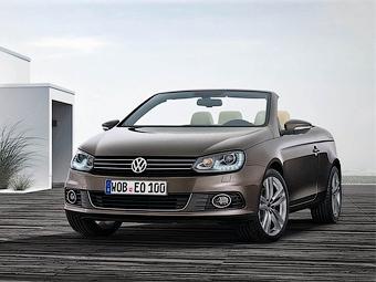 Купе-кабриолет Volkswagen Eos получил новую внешность