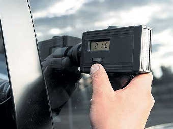 ГИБДД начала рейды по проверке тонировки автомобилей