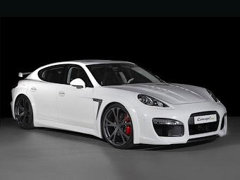Ателье TechArt подготовило к Женеве свою версию Porsche Panamera