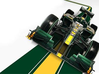 "Команда Lotus представила болид ""Формулы-1"""