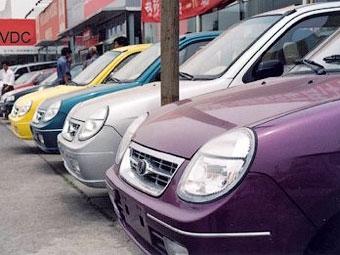 В Китае упали продажи автомобилей