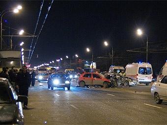 """В Москве и Подмосковье увеличилось число """"пьяных"""" ДТП"""