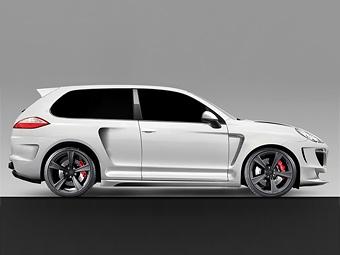 Новое британское тюнинг-ателье будет переделывать Porsche Cayenne в купе
