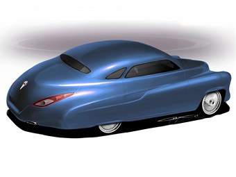 В России построят ретро-купе на базе Porsche Cayenne