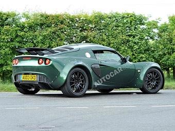 Lotus готовит спорткар Exige с двигателем V6