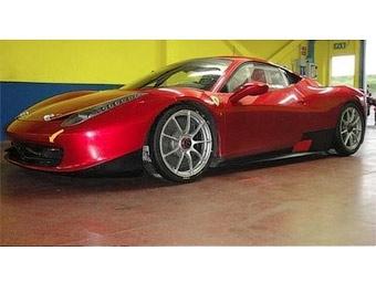Ferrari подготовит суперкар 458 Italia для гонок