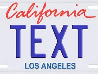 В США на автомобильных номерных знаках будут показывать рекламу