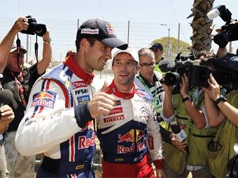 Себастьен Ожье выиграл первую гонку WRC в своей карьере