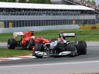 Судьи Гран-при Канады оштрафовали пилота Ferrari