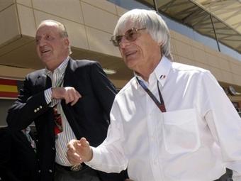 Экклстоун займется спасением испанской команды Формулы-1