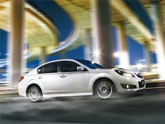 В Японии будут продавать Subaru Legacy с тюнингом от STi