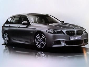"Новая ""пятерка"" BMW обзавелась М-пакетом"