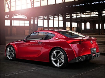 Toyota готовит уменьшенную версию спорткупе FT-86