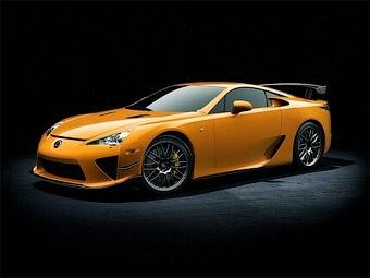 Компания Lexus выбрала название для трековой версии суперкара LFA