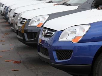 Продажи новых машин в России увеличились на 20 процентов