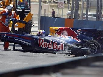 Уэббер восстановится после аварии к Гран-при Великобритании