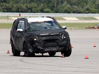 Новый Ford Explorer получит продвинутую систему стабилизации