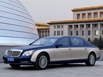 Продажи автомобилей Maybach в России сократились втрое