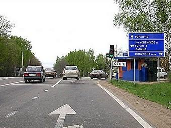 Из-за дорожного ремонта Рублевку будут перекрывать по ночам