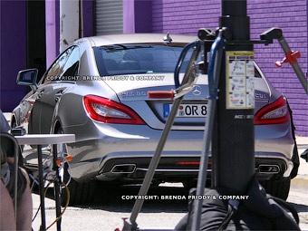 Фотошпионы рассекретили новый Mercedes-Benz CLS