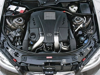 На автомобилях Mercedes-Benz появятся новые двигатели V6 и V8