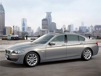 """В Китае будут продавать удлиненную версию новой """"пятерки"""" BMW"""