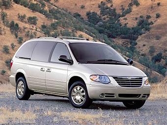 Chrysler отзывает 355 тысяч минивэнов из-за проблем с подушками безопасности