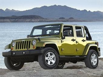 Из-за проблем с тормозами 289 тысяч Jeep Wrangler отправятся на сервис