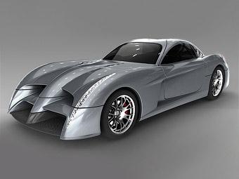 Производитель спорткаров Panoz представил в Ле-Мане 600-сильное купе