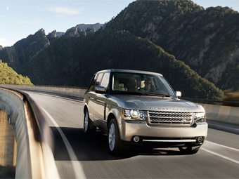 Range Rover с новым дизелем V8 покажут в Москве