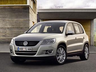 VW Tiguan летом получит трансмиссию DSG
