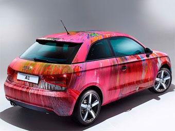 Разукрашенный Audi A1 ушел с молотка за 420 тысяч евро