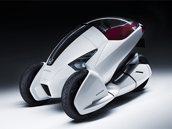 В Женеве Honda покажет одноместное транспортное средство