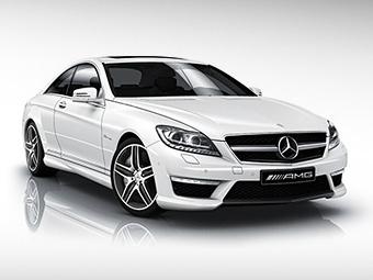 Обновленное купе Mercedes-Benz CL AMG получит турбомотор V8
