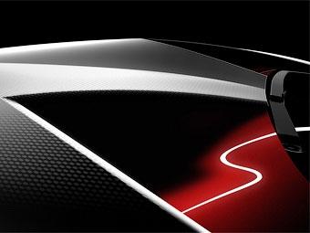 Опубликована первая фотография нового суперкара Lamborghini