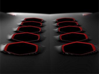 Lamborghini продолжает раскрывать внешность нового суперкара