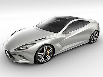 Lotus решил конкурировать с Aston Martin гибридным спорткупе