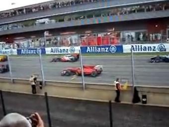 На Гран-при Бельгии судьи не заметили фальстарт Фелипе Массы