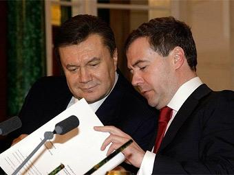 Медведев и Янукович примут участие в автопробеге
