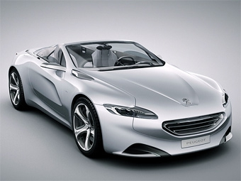 В Париже Peugeot представит собственную версию концепта Citroen DS4