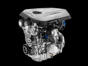 Компания Volvo представила два новых турбодвигателя