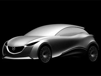 Mazda показала хэтчбек в новом фирменном дизайн-стиле