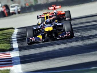 Феттель показал лучшее время в пятничной практике Гран-при Италии