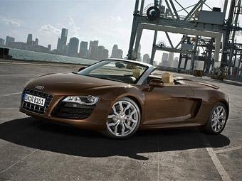 Объявлены российские цены на Audi R8 Spyder